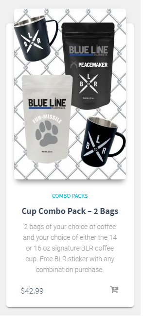 Cup Combo Pack - 2 Bags