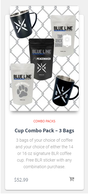 Cup Combo Pack - 3 Bags