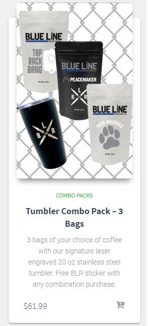 Tumbler Combo Pack - 3 Bags